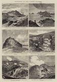 Sketches in the Lipari Islands