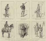 The Civil War in Spain, Types of the Alphonsist Troops