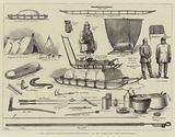 The Arctic Expedition, Apparatus to be used by the Explorers