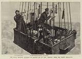 """The Fatal Balloon Accident in France, Car of the """"Zenith"""" with the Three Aeronauts"""