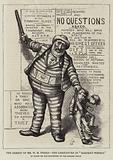 "The Arrest of Mr WM Tweed, the Caricature in ""Harper's Weekly"""