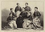 Mrs Deebles, of the Army Nursing Service, and her Assistants, recently despatched to Natal