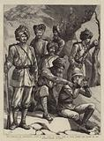 The Rebellion in Afghanistan, Group of the Corps of Guides, Some of whom formed the Escort …