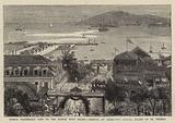 Prince Waldemar's Visit to the Danish West Indies, Arrival at Charlotte Amalia, Island of St Thomas