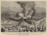The Afghan Campaign, the Explosion of the Magazine at the Bala Hissar, Cabul