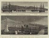 """The Loss of the """"Doterel,"""" Sketches from Sandy Point, Straits of Magellan"""