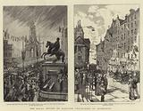 The Royal Review of Scottish Volunteers at Edinburgh