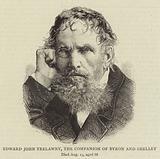 Edward John Trelawny, the Companion of Byron and Shelley