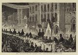 Mr Gladstone at Leeds, the Torchlight Reception