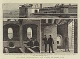 Our Coast Defences, New Gun Turret on Dover Pier
