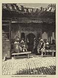 The French Occupation of Tunis, an Arab Cafe