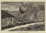 "The Balloon Accident, the ""Saladin"" drifting Seaward"