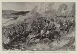 The Royal Review at Aldershot, Tenth Hussars descending Long Hill