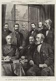The British Association at Birmingham, Portraits of the Presidents of Sections