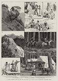 A Lady's Camping Tour in the Far, Far West, II, a Visit to the Washington Mountain Mines