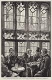 The Smoking-Room of the Reporters' Gallery, House of Commons