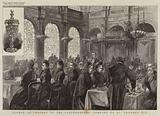 Dinner to Freemen of the Clothworkers' Company on St Thomas's Eve