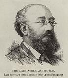 The Late Asher Asher, MD