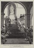 Jubilee of the University of London, New Statue of the Queen at Burlington House