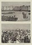 The Arrival of the New Khedive of Egypt, Abbas Pasha, at Cairo