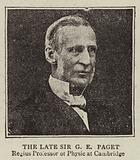 The Late Sir G E Paget