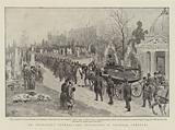 Mr Spurgeon's Funeral, the Procession in Norwood Cemetery