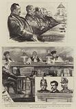 The Anarchists in Paris, the Trial of Ravachol at the Palais de Justice