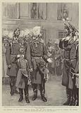 The Reception of the Crown Prince of Prussia into the First Regiment of Guards at Potsdam …