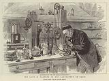 The Late M Pasteur in his Laboratory in Paris