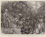 With Major Lothaire in the Congo State, a Convoy of Prisoners of War