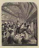 Dining Car on the Union Pacific Railway