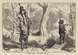 """Great Hawk"" and Small Mormon"