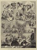 The Tichborne Case, Sketches of Heads in Court