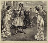 """Scene from """"Thespis"""" at the Gaiety Theatre"""