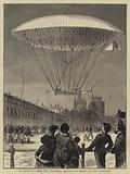 M Dupuy de Lome's New Navigating Balloon, the Ascent at Fort Vincennes