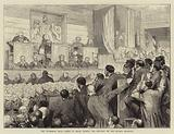 The Tichborne Trial, Scene in Court during the Delivery of the Judge's Sentence