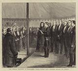The Imperial Reception at Chislehurst, Prince Eugene Louis Napoleon reading his Address