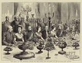 The Ball at the Mansion House to the Duke and Duchess of Edinburgh, the Supper