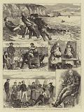 The Mackerel Fishery, Sketches in a Devonshire Village