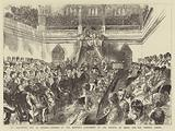 St Valentine's Day at Ottawa, opening of the Dominion Parliament by the Marquis of Lorne and the Princess Louise