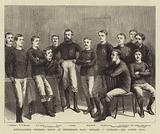 International Football Match at Kennington Oval, England v Scotland, the Scotch Team