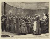 Our London Poor, a Tea to Seven Hundred Tramps and Beggars in Moorgate Street Hall