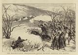The Herzegovinian Insurrection, Action between Trebinje and Ragusa