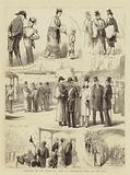 Reception of the Prince of Wales at Portsmouth, Notes on the Jetty