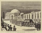 The Eastern Question, Funeral Procession of the Late Sultan entering the Mausoleum of Sultan Mahmoud II