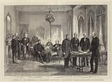 A Meeting of the Conference on the Eastern Question at the Admiralty Palace (Ters-Haneh) Constantinople