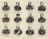 The War in the East, Generals of the Russian Army