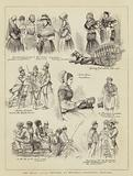 The Royal Silver Wedding at Brussels, Character Sketches