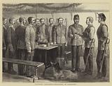Military Sketches, Christmas in Barracks