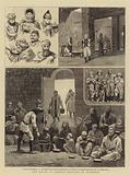 The Famine in Armenia, Sketches at Diarbekir